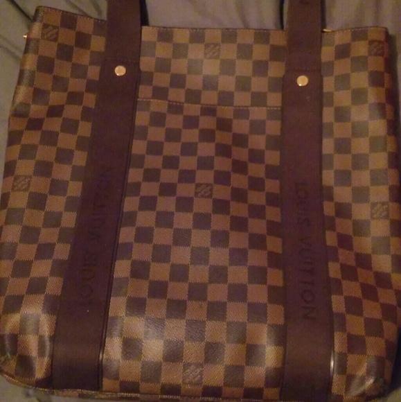 1ab66b6acfb0 Louis Vuitton Handbags - Louis Vuitton Damier Canvas Cabas Beaubourg Tote